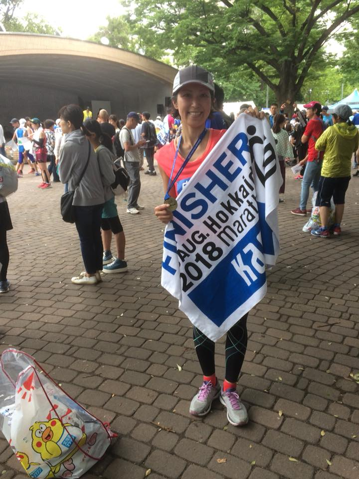 40歳からのチャレンジ・夏のフルマラソン完走