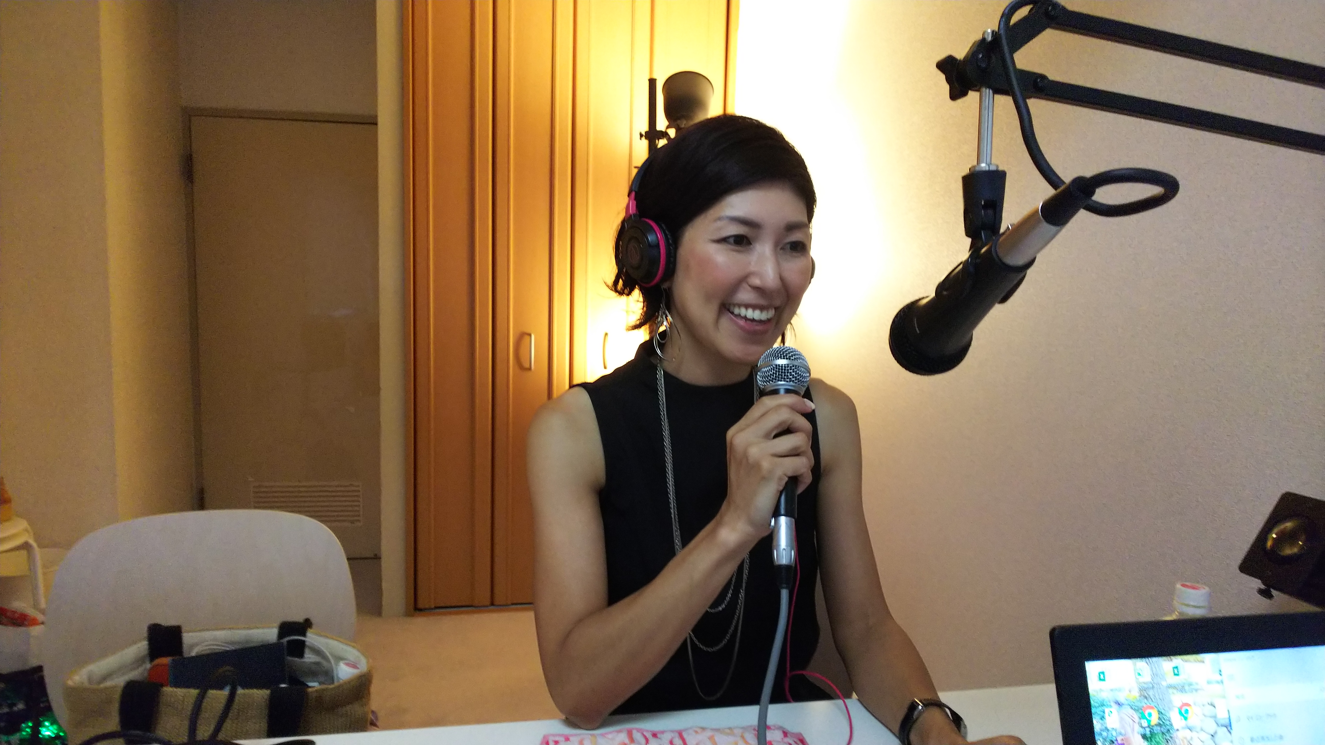 本日22時〜ラジオ出演します。