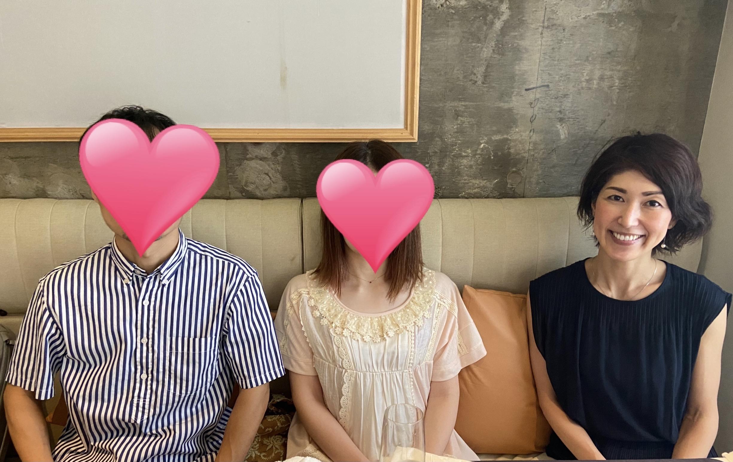 【成婚退会レポート】41歳女性(活動期間7ヶ月)とお相手43歳男性のカップル
